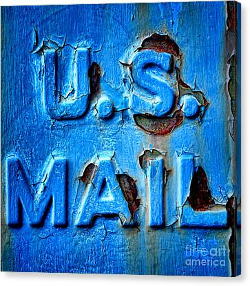 Us Mail Canvas Print by Olivier Le Queinec