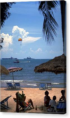 Photograph - Us Navy Off Pattaya by Travel Pics