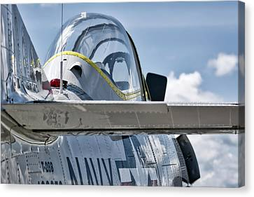 U.s. Navy T-28 Trojan  Canvas Print