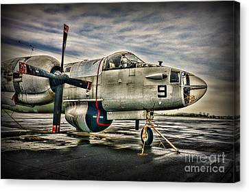 Us Navy Top Gun Aircraft Canvas Print by Paul Ward