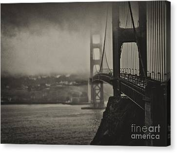 U.s. Route 101 Canvas Print by Alessandro Giorgi Art Photography