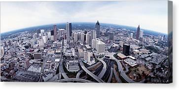 Usa, Georgia, Atlanta, Aerial View Canvas Print by Panoramic Images