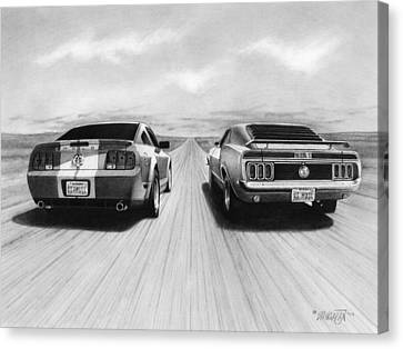 Usa Muscle II Canvas Print