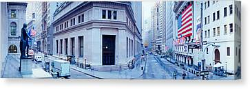 Usa, New York, New York City, Wall Canvas Print by Panoramic Images