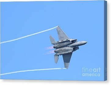 Usaf F-15 Strike Eagle . 7d7864 Canvas Print