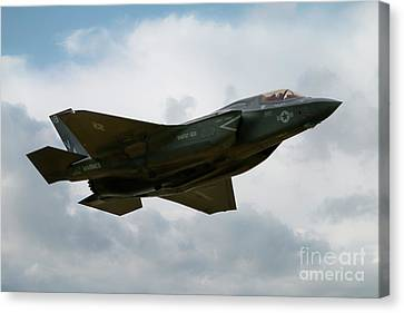 Usaf F35 Canvas Print by J Biggadike