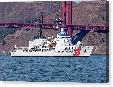 Uscgc Mellon Whec 717  Canvas Print by Rick Pisio