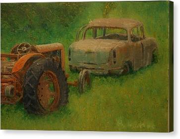 Use By Dates Expired Canvas Print by Terry Perham
