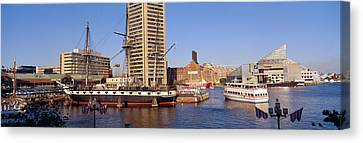 Uss Constellation, Inner Harbor Canvas Print