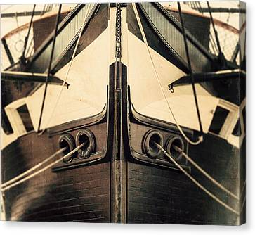 Uss Constellation Canvas Print by Lisa Russo