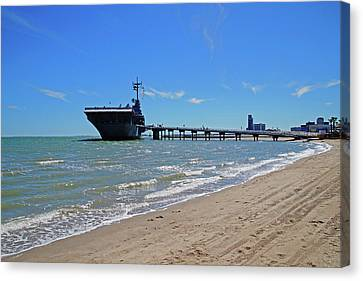 Uss Lexington Canvas Print