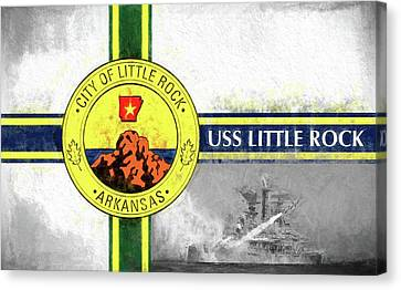 Uss Little Rock Canvas Print by JC Findley