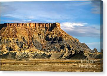 Utah Butte Canvas Print