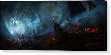 Utherworlds Nightmist Canvas Print by Philip Straub