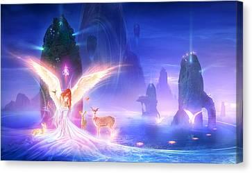 Utherworlds Ooulana Canvas Print