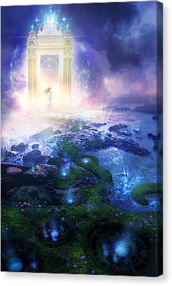 Utherworlds Passage To Hope Canvas Print