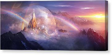 Utherworlds Unohla Canvas Print by Philip Straub