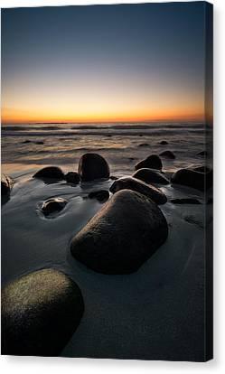 Uttakleiv Rocks Canvas Print by Tor-Ivar Naess