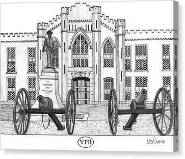 V M I  Canvas Print by Frederic Kohli