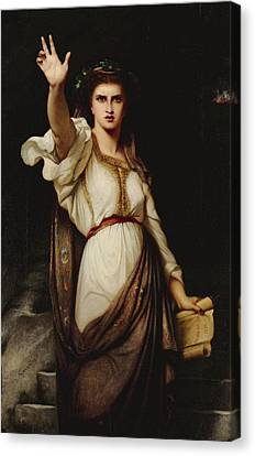Vae Victoribus Woe To The Victors Canvas Print by Charles Zacharie