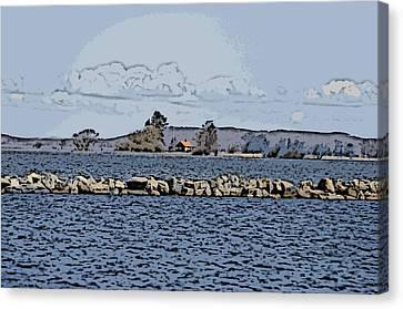 Vaennern Lake Canvas Print