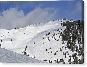 Vail Resort - Colorado - Blue Sky Basin Canvas Print by Brendan Reals