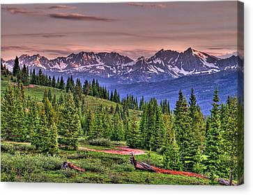 Vail View Canvas Print by Scott Mahon