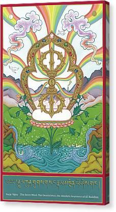 Vajra Canvas Print by Carmen Mensink