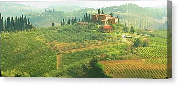 Val D'orcia Jewel Of Tuscany Canvas Print