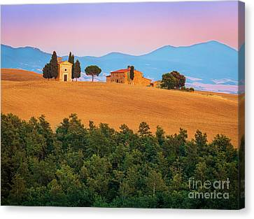 Val D'orcia Serenity Canvas Print by Inge Johnsson
