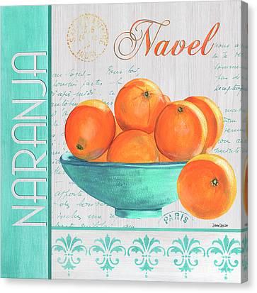 Vitamin Canvas Print - Valencia 3 by Debbie DeWitt