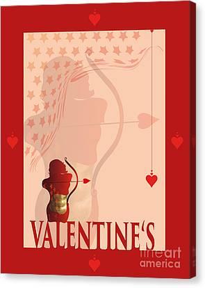 Yes Valentine M20 Canvas Print by Johannes Murat