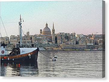 Valetta Canvas Print by Robert Lacy