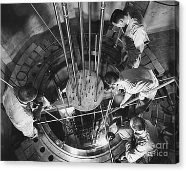 Vallecitos Nuclear Center, C. 1960 Canvas Print by News Bureau, General Electric Company