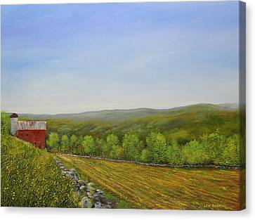 Valley Farm Canvas Print