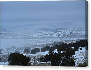 Valley Fog Canvas Print by Curtis Willis