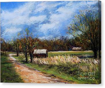 Valley Forge Summer Canvas Print by Joyce A Guariglia