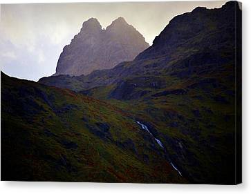 Valley Light Canvas Print by David Broome