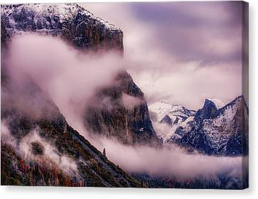 Valley Mood, Yosemite Canvas Print by Vincent James
