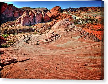 Valley Of Fire State Park Nevada Canvas Print by James Hammond