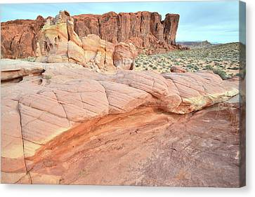 Canvas Print featuring the photograph Valley Of Fire's North End by Ray Mathis