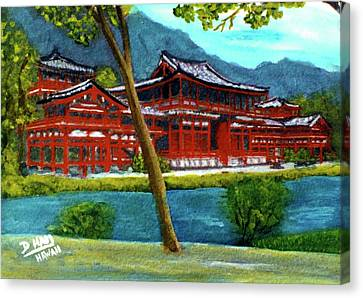 Valley Of The Temples Buddhist Temple #73 Canvas Print by Donald k Hall