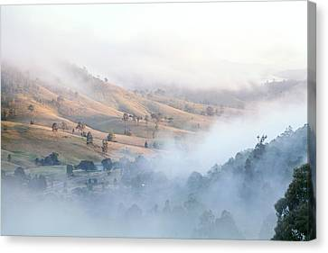 Valley Of Whispers Canvas Print by Az Jackson