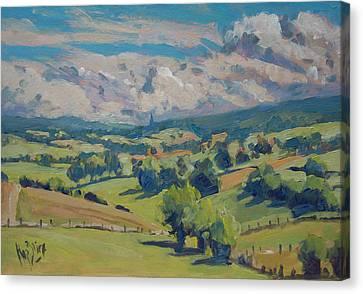 Canvas Print - Valley Schweiberg by Nop Briex