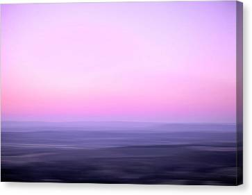 Valley Sunrise Canvas Print by Skip Nall