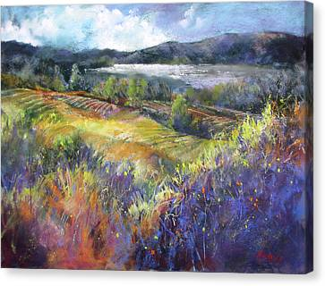 Valley View Canvas Print by Rae Andrews