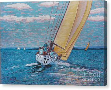 Valour -chester Race Week Canvas Print