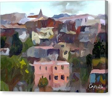 Valparaiso - Chile Canvas Print by Carlos Camus