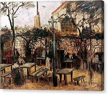 Van Gogh: Guingette, 1886 Canvas Print by Granger