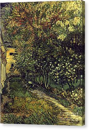 Van Gogh: Hospital, 1889 Canvas Print by Granger